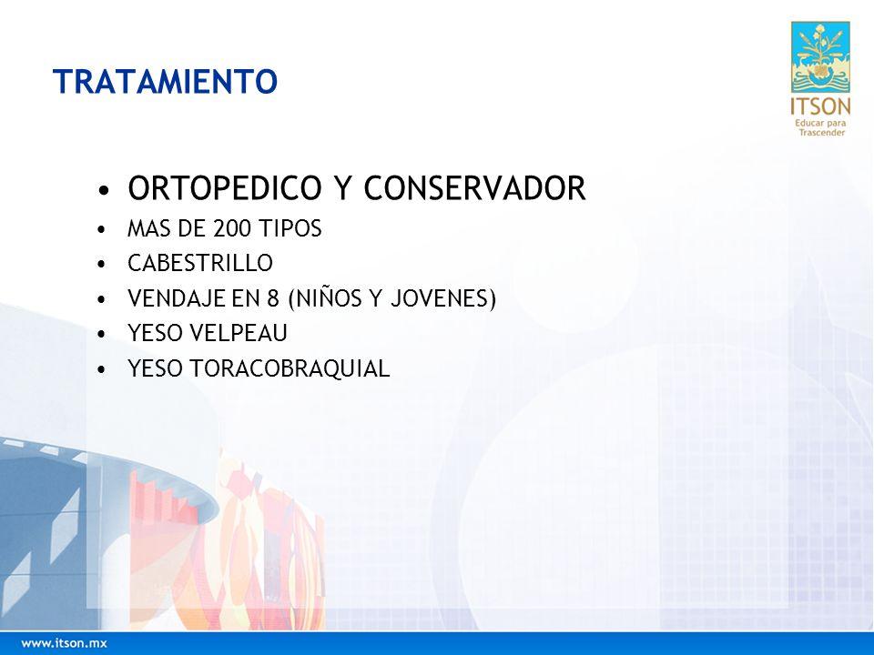 ORTOPEDICO Y CONSERVADOR