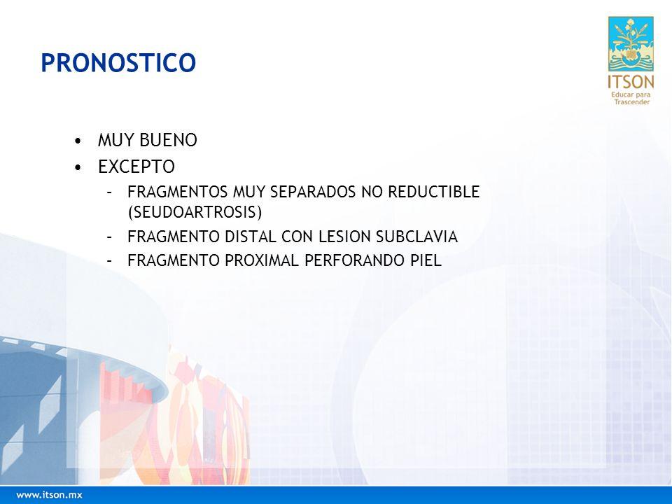 PRONOSTICO MUY BUENO EXCEPTO