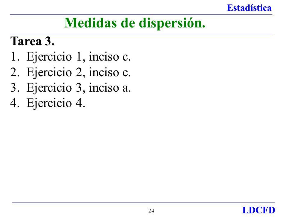 Medidas de dispersión. Tarea 3. 1. Ejercicio 1, inciso c.