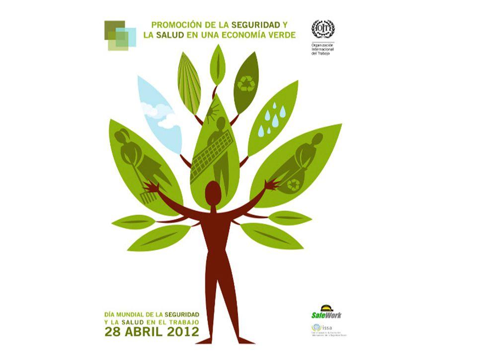 Con ocasión del Día Mundial de SST este año la OIT ha preparado un informe sobre Promover la seguridad y la salud en una economía verde .