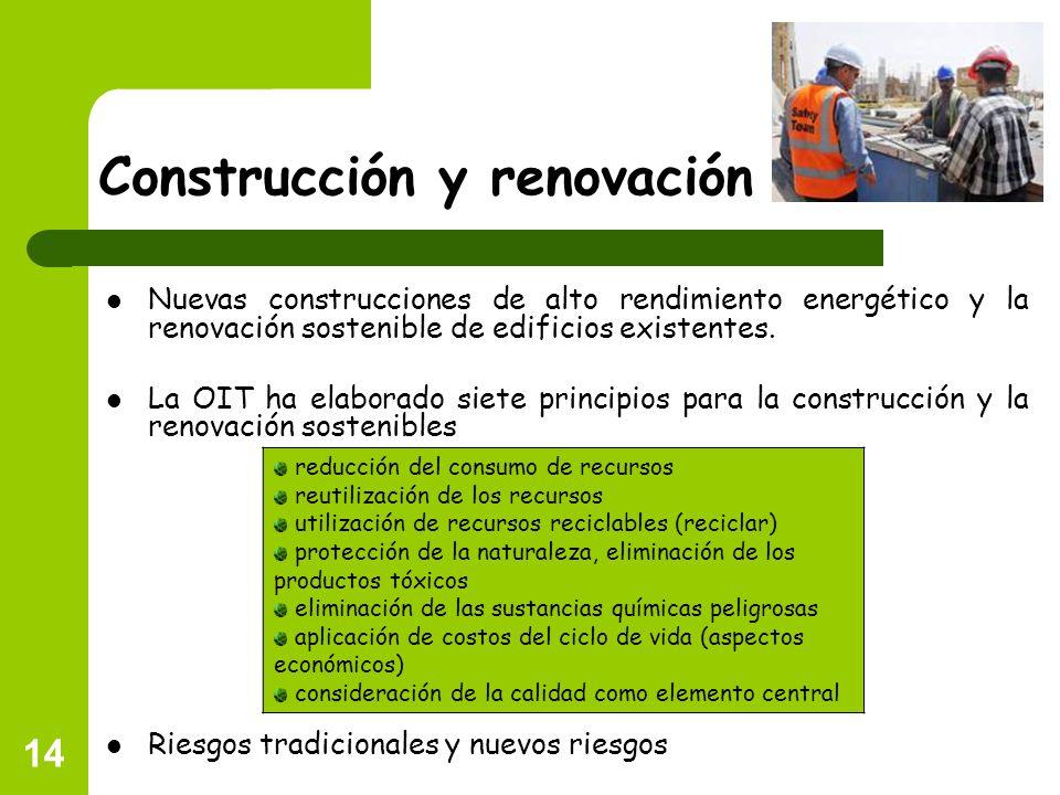Construcción y renovación