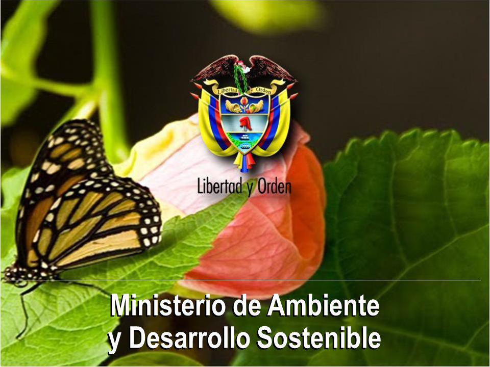 Ministerio de Ambiente y Desarrollo Sostenible Ministerio de Ambiente