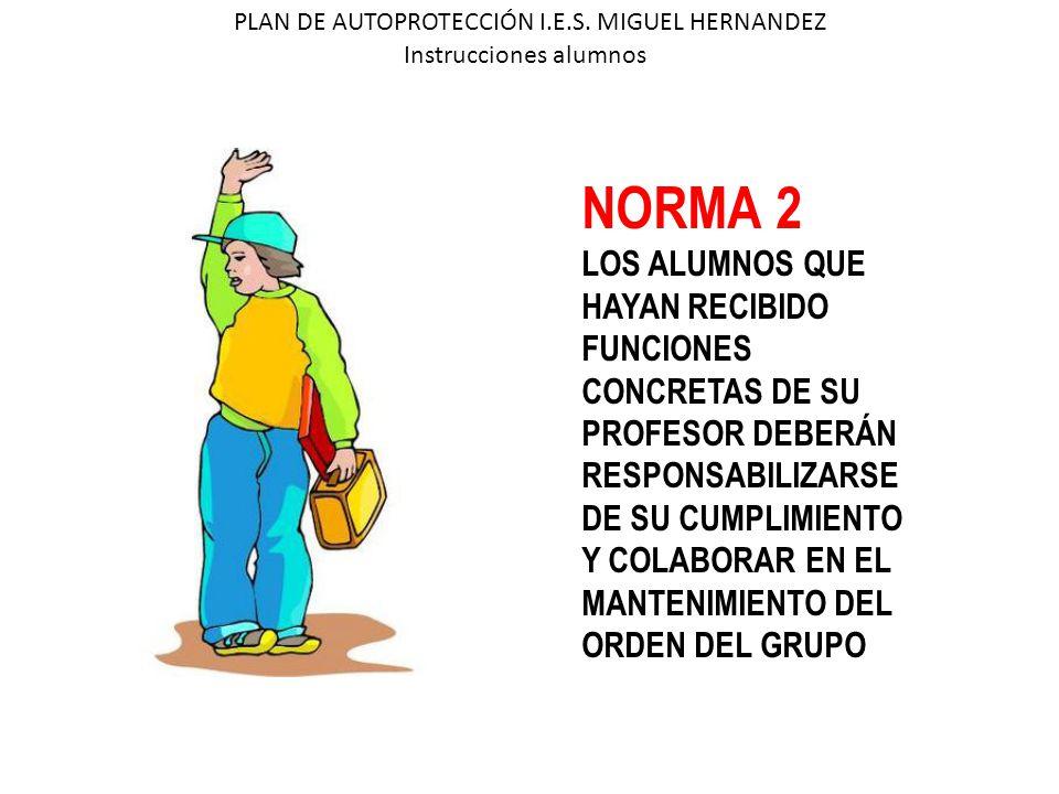 NORMA 2 LOS ALUMNOS QUE HAYAN RECIBIDO FUNCIONES CONCRETAS DE SU