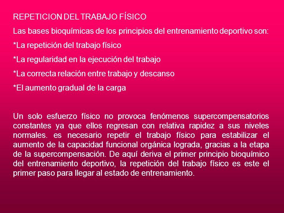 REPETICION DEL TRABAJO FÍSICO