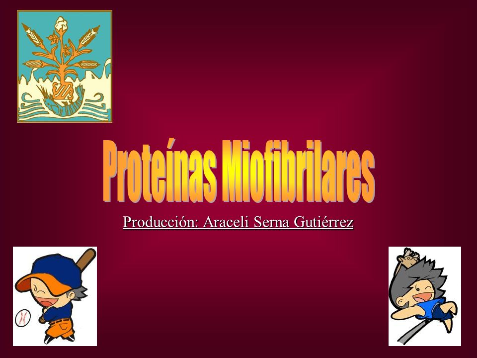 Proteínas Miofibrilares