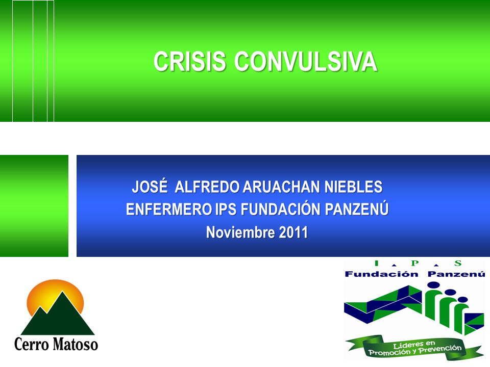 JOSÉ ALFREDO ARUACHAN NIEBLES ENFERMERO IPS FUNDACIÓN PANZENÚ