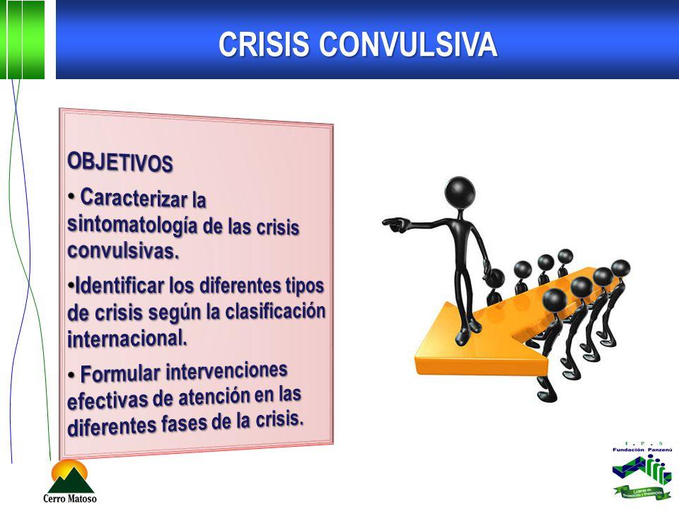 CRISIS CONVULSIVA OBJETIVOS