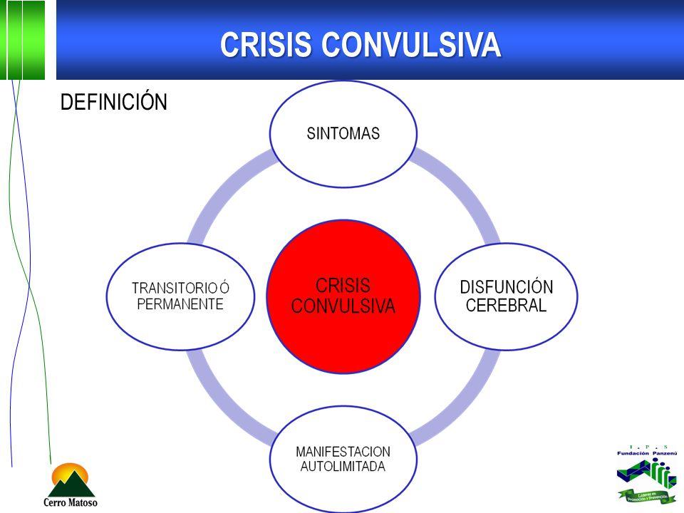 CRISIS CONVULSIVA DEFINICIÓN