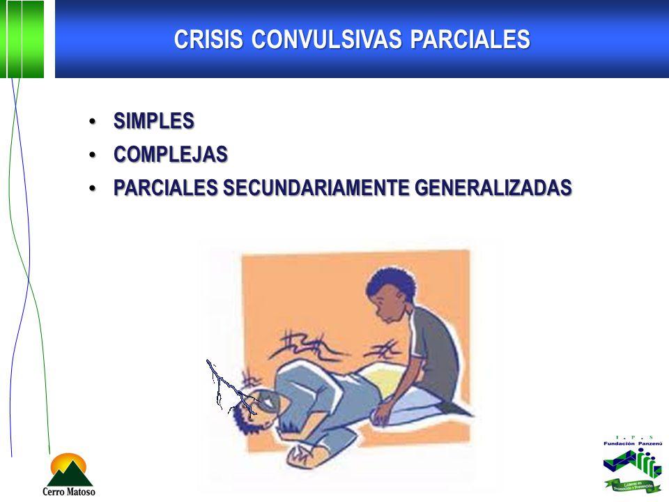 CRISIS CONVULSIVAS PARCIALES