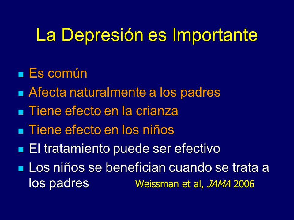 La Depresión es Importante