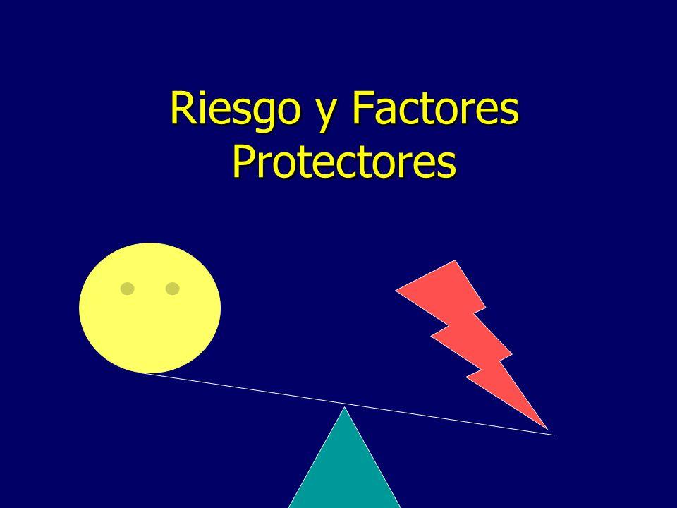 Riesgo y Factores Protectores