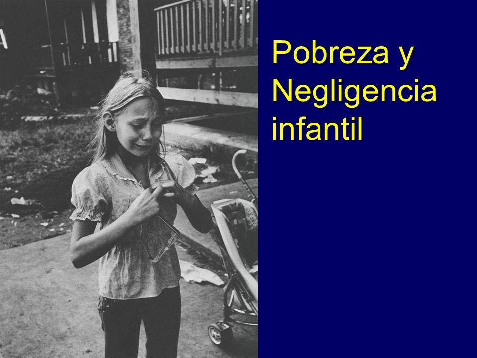 Pobreza y Negligencia infantil