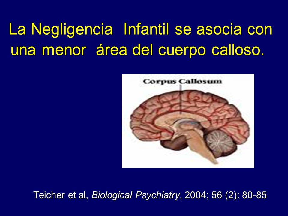 Teicher et al, Biological Psychiatry, 2004; 56 (2): 80-85