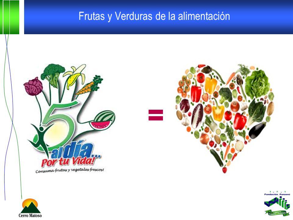 Frutas y Verduras de la alimentación