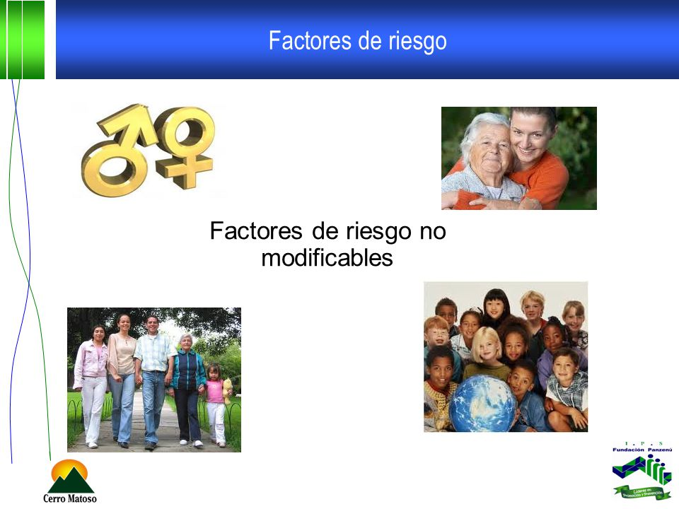 Factores de riesgo no modificables