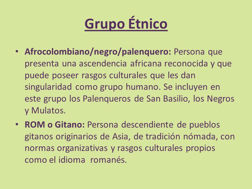 Grupo Étnico