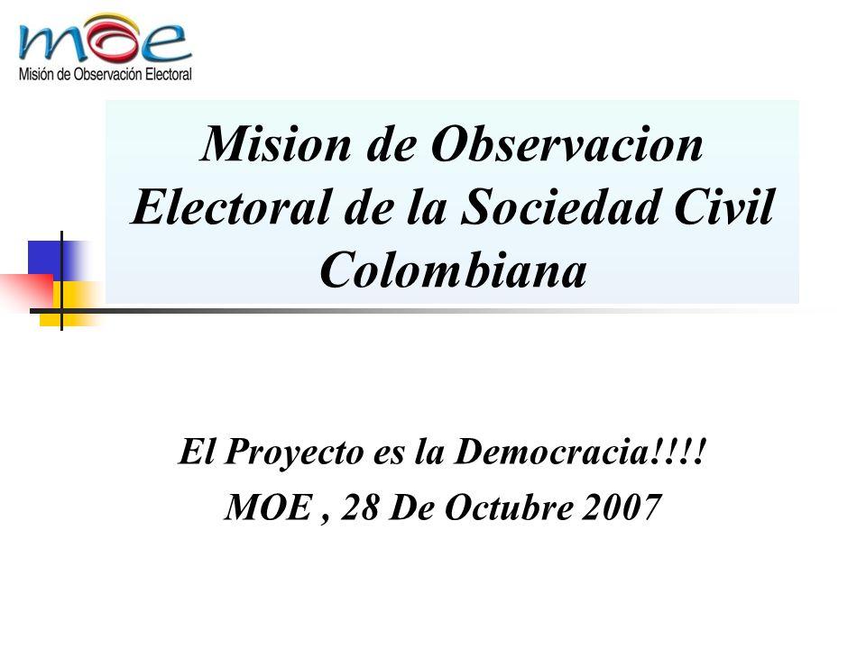 Mision de Observacion Electoral de la Sociedad Civil Colombiana