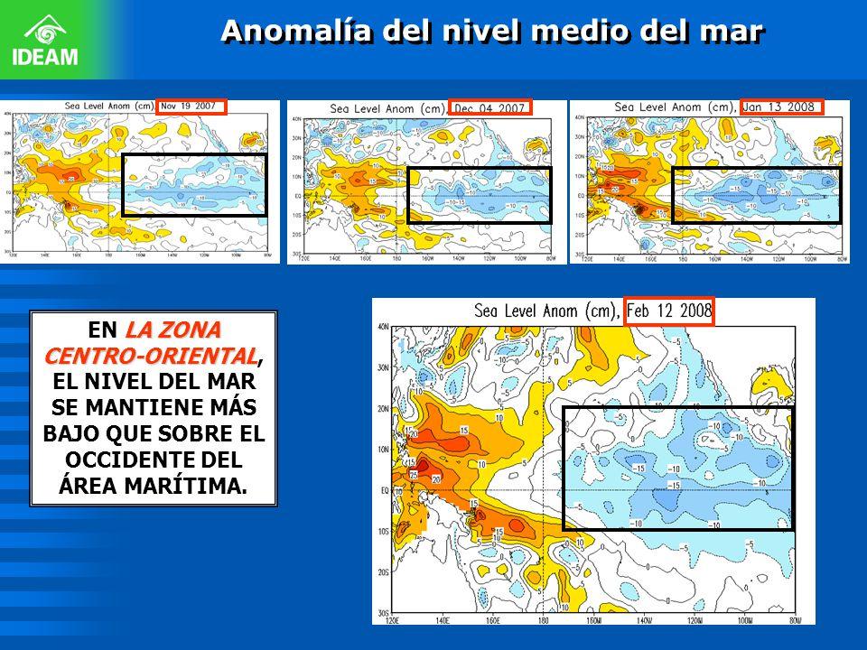 Anomalía del nivel medio del mar
