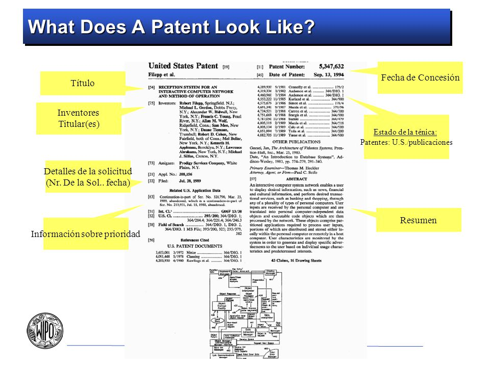 What Does A Patent Look Like