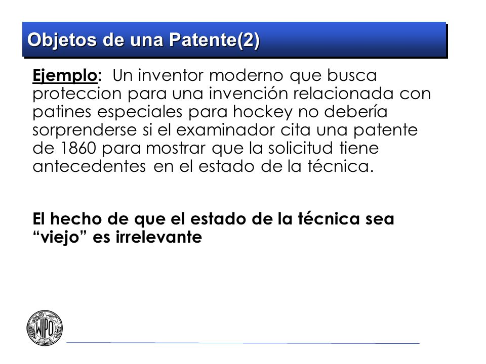 Objetos de una Patente(2)
