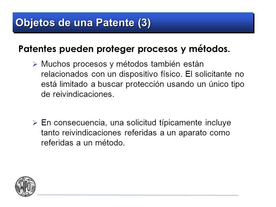 Objetos de una Patente (3)