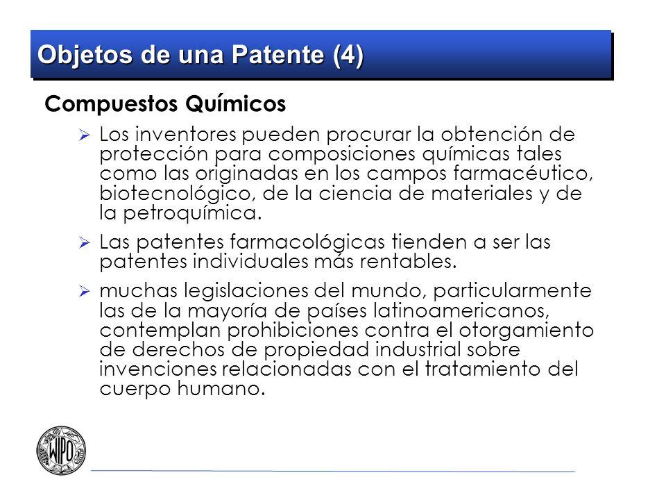 Objetos de una Patente (4)