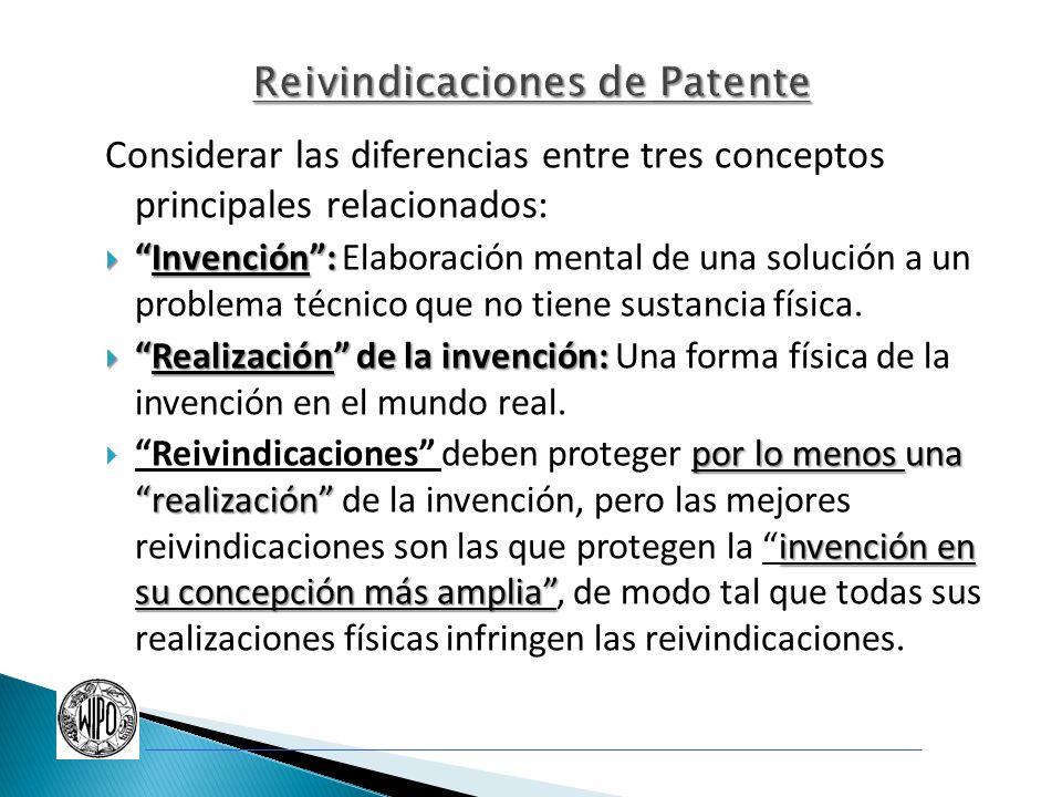 Reivindicaciones de Patente