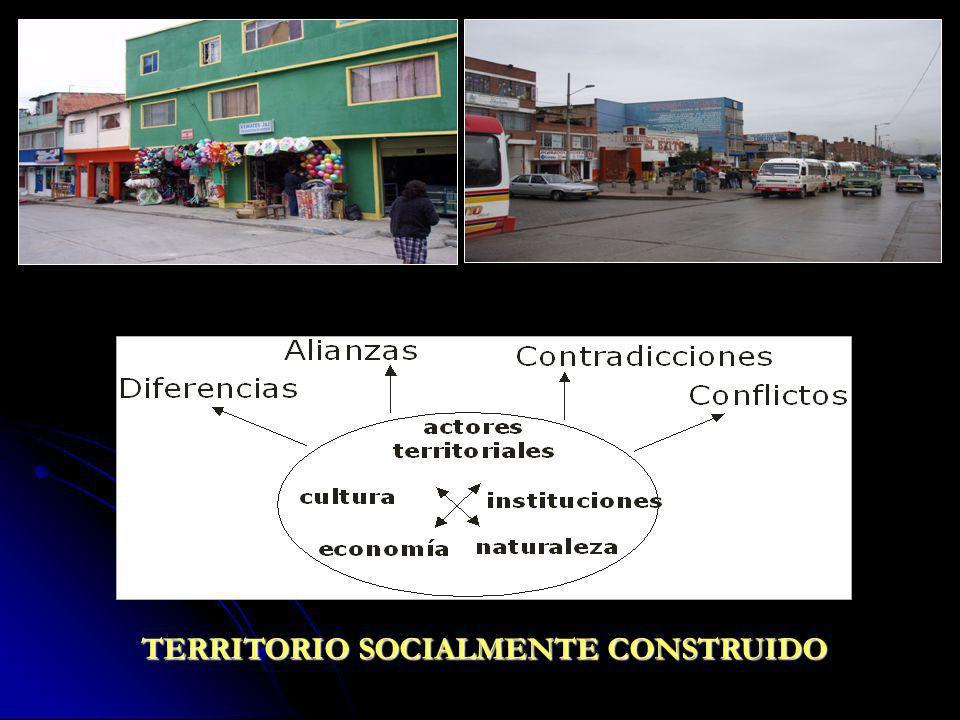 TERRITORIO SOCIALMENTE CONSTRUIDO
