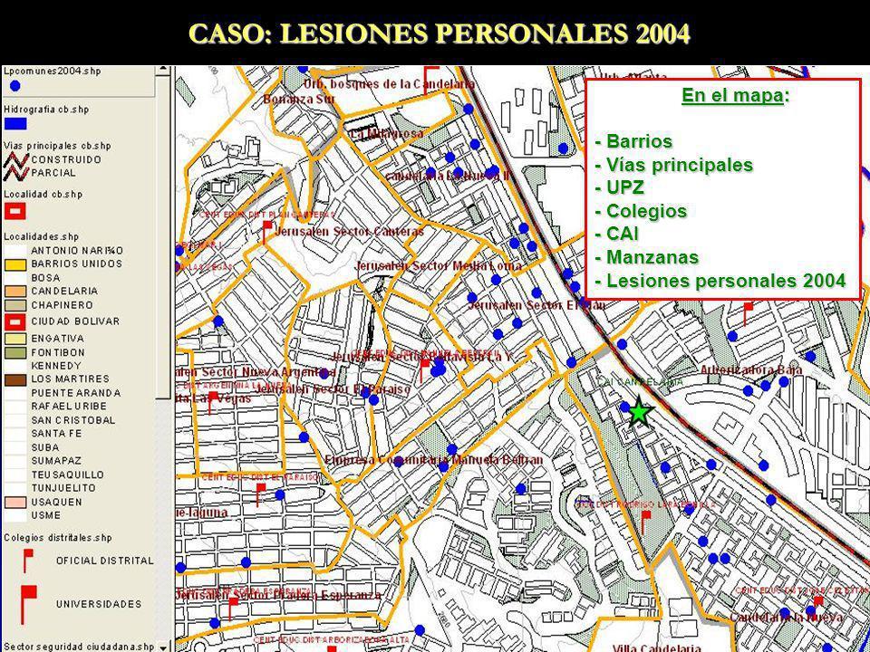CASO: LESIONES PERSONALES 2004
