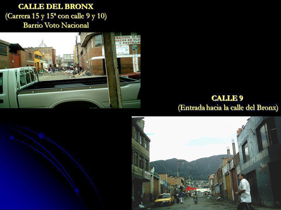 (Carrera 15 y 15ª con calle 9 y 10) Barrio Voto Nacional