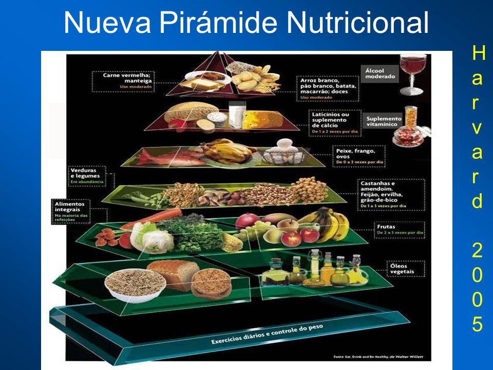 Nueva Pirámide Nutricional
