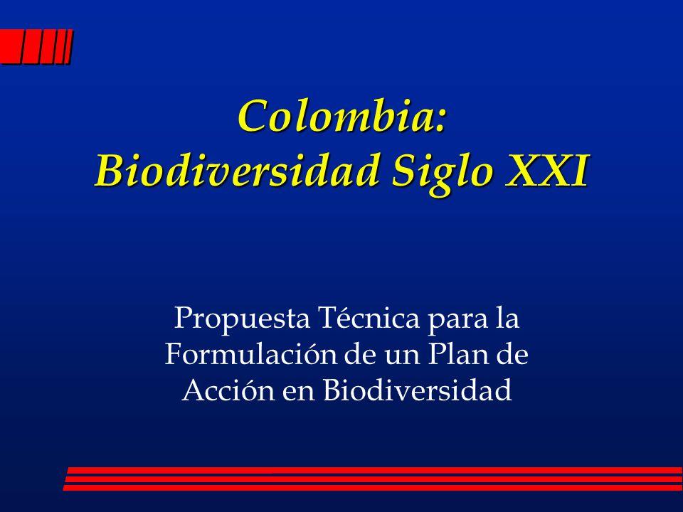 Colombia: Biodiversidad Siglo XXI