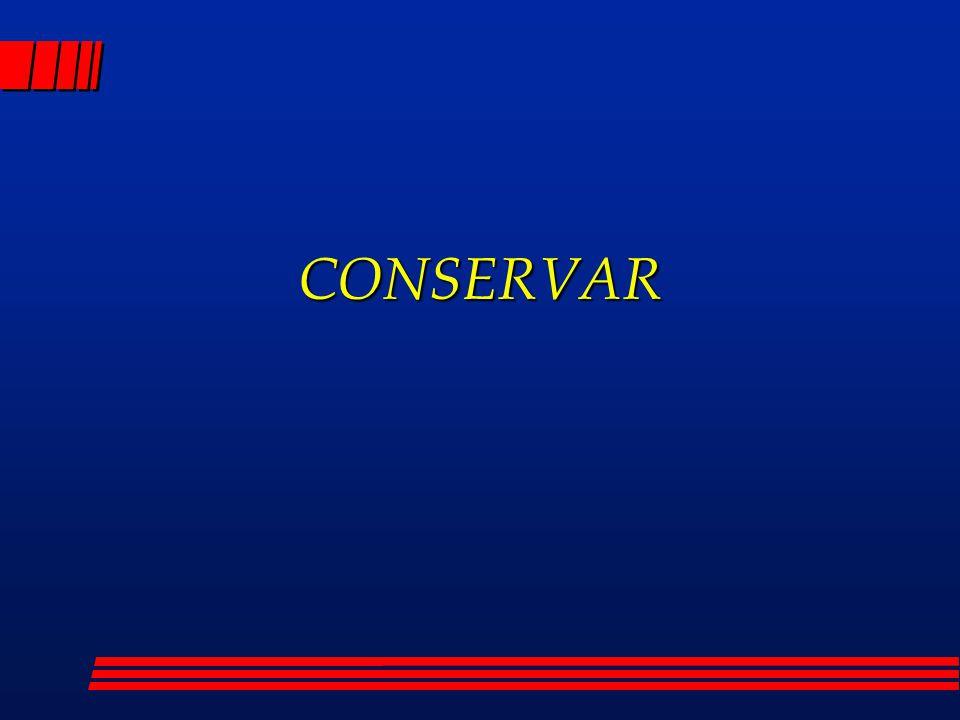 CONSERVAR