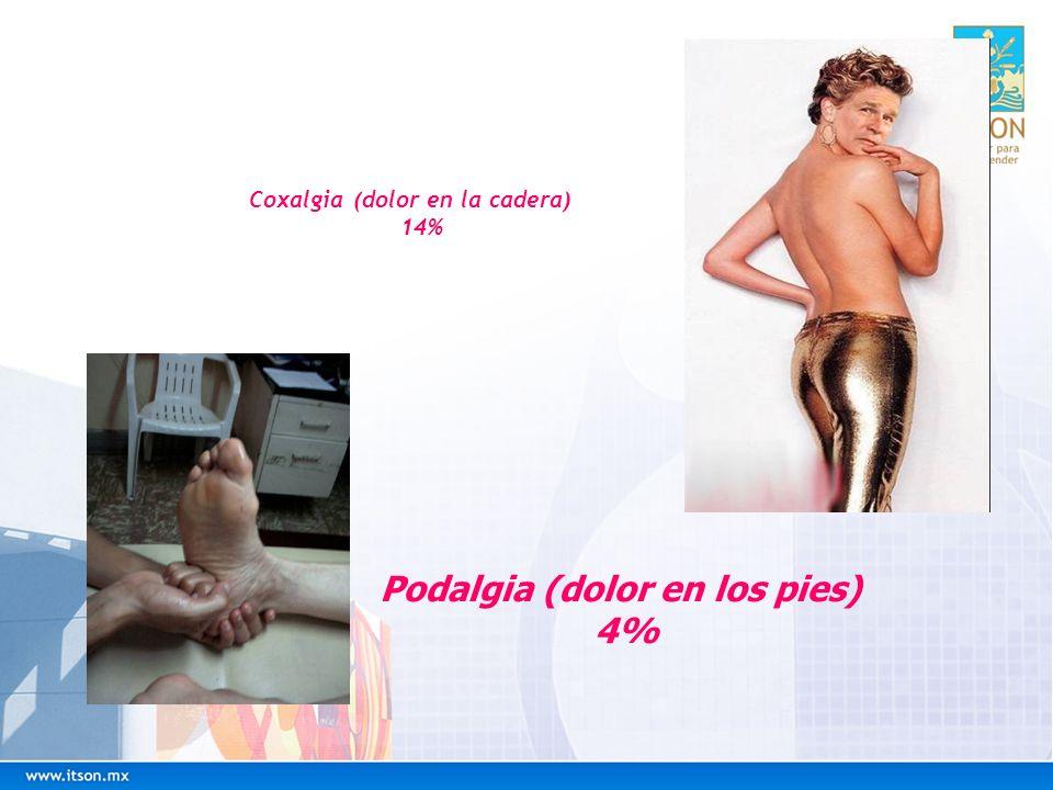 Coxalgia (dolor en la cadera)