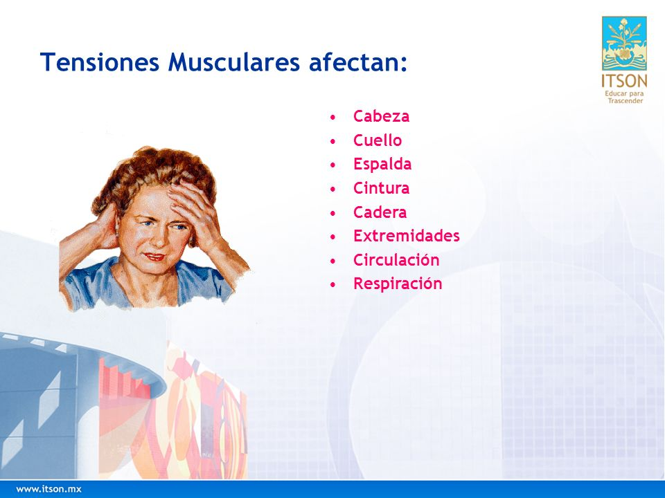 Tensiones Musculares afectan: