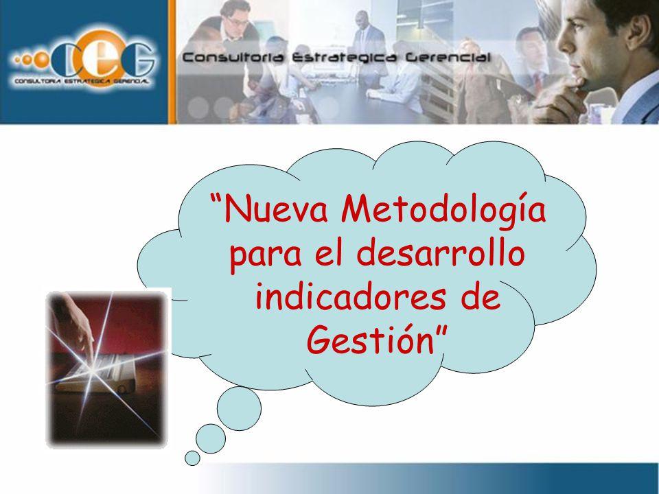 Nueva Metodología para el desarrollo indicadores de Gestión