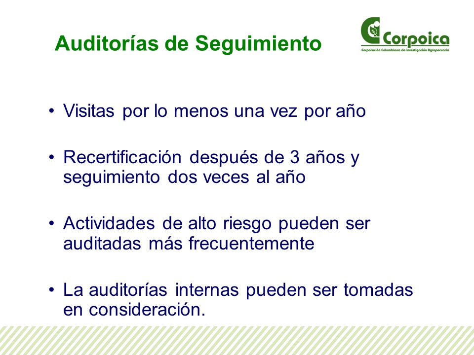 Auditorías de Seguimiento
