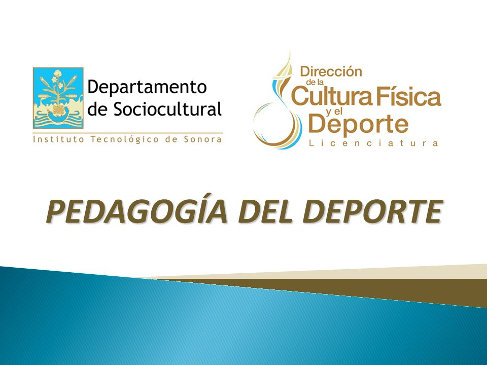 PEDAGOGÍA DEL DEPORTE
