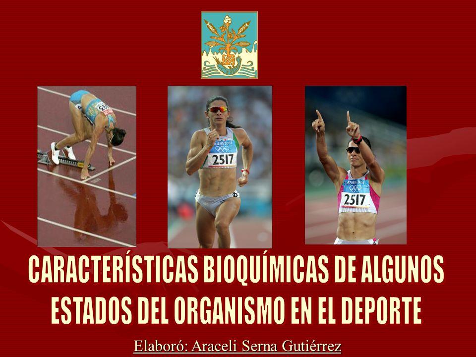 CARACTERÍSTICAS BIOQUÍMICAS DE ALGUNOS
