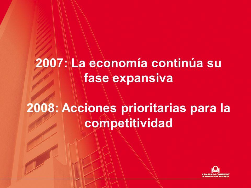 2007: La economía continúa su fase expansiva