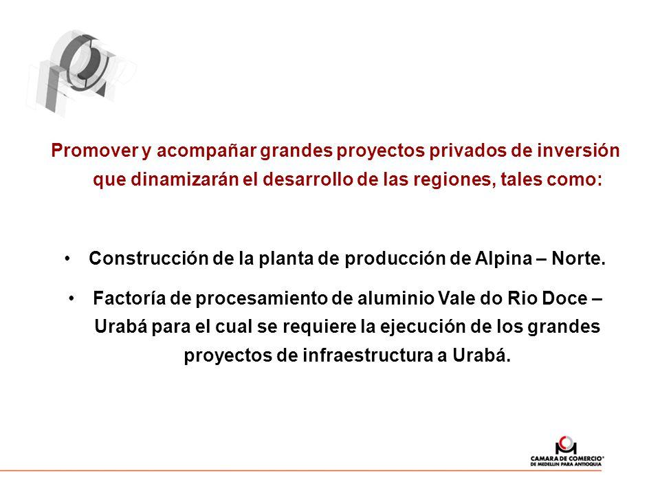 Construcción de la planta de producción de Alpina – Norte.