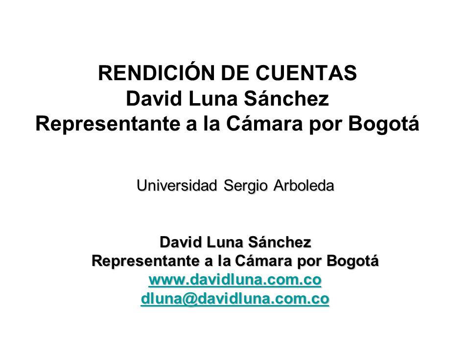 Representante a la Cámara por Bogotá