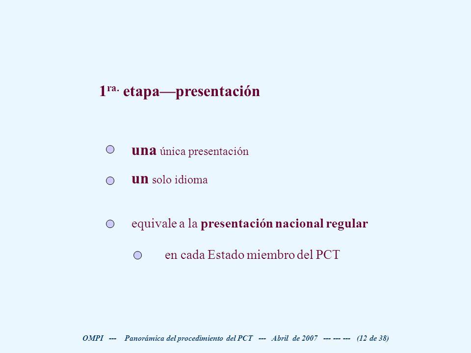 1ra. etapa—presentación