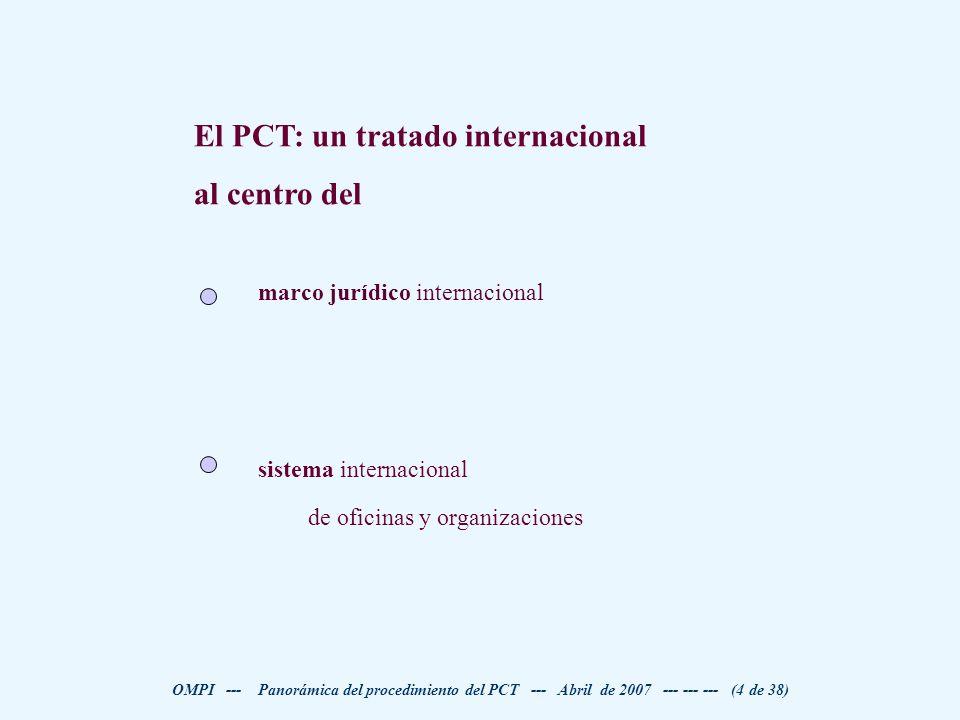 El PCT: un tratado internacional al centro del