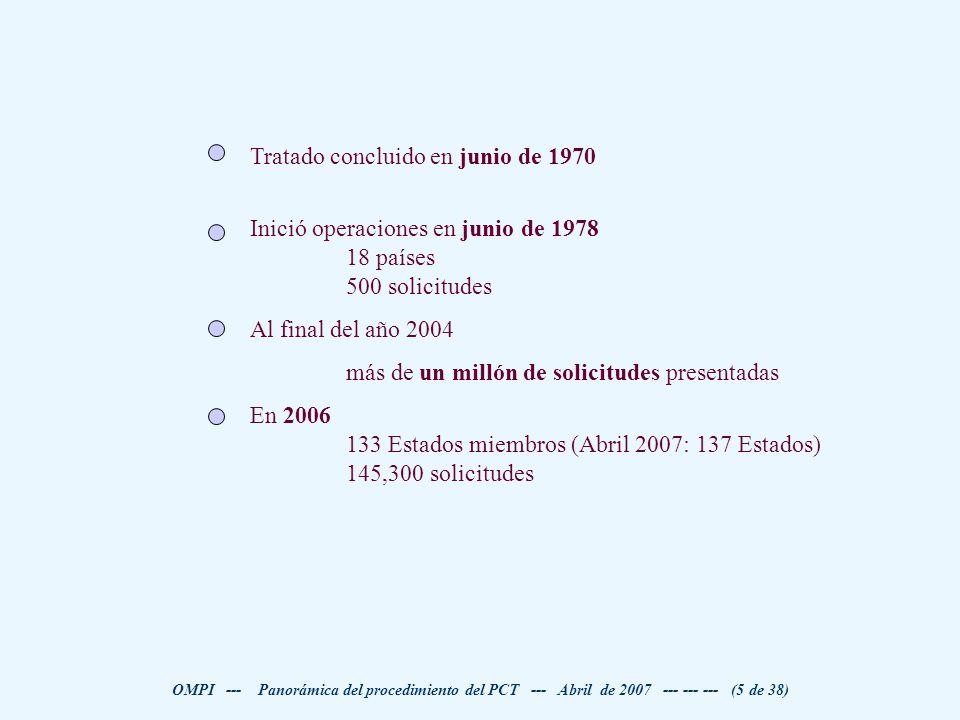 Tratado concluido en junio de 1970
