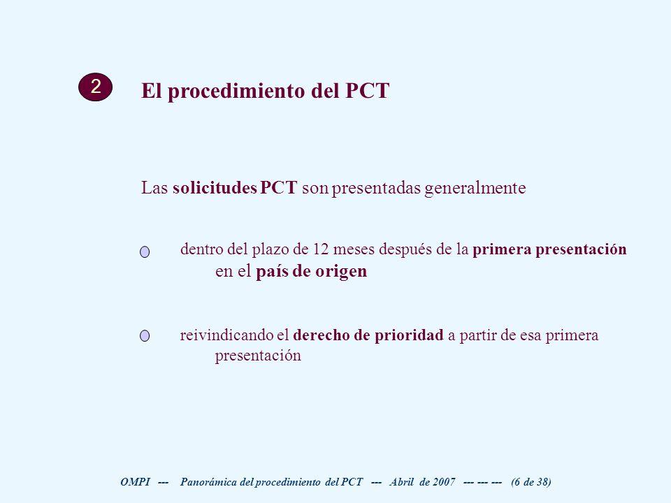 El procedimiento del PCT
