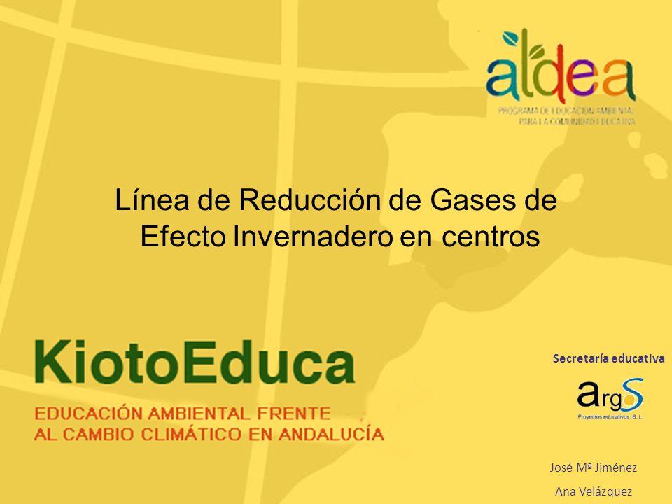 Línea de Reducción de Gases de Efecto Invernadero en centros