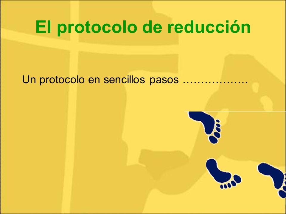 El protocolo de reducción