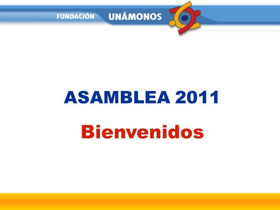 ASAMBLEA 2011 Bienvenidos
