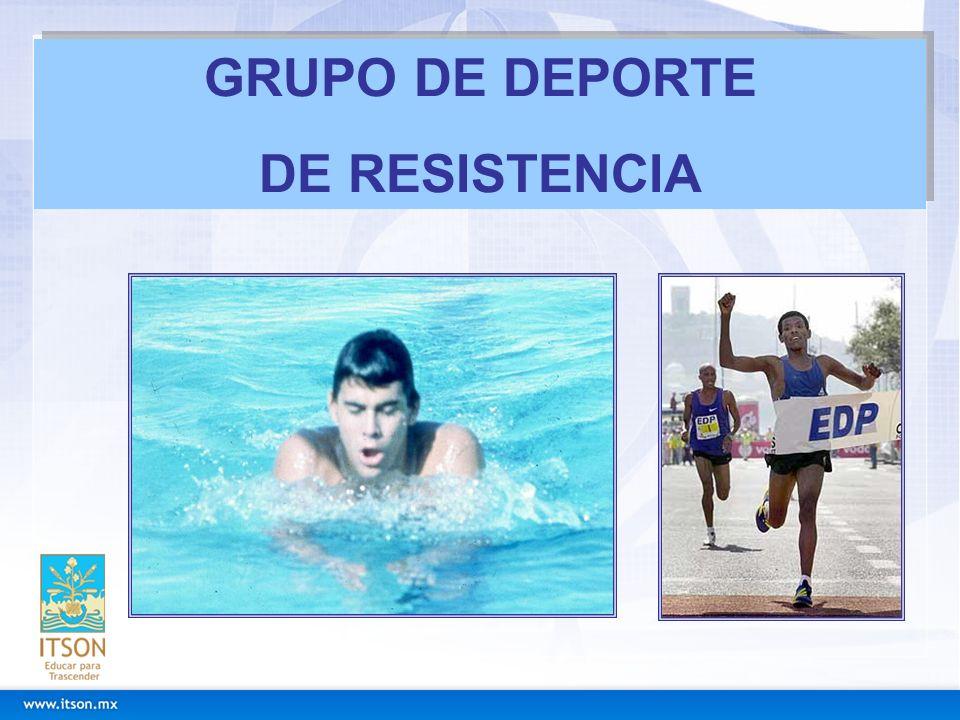 GRUPO DE DEPORTE DE RESISTENCIA